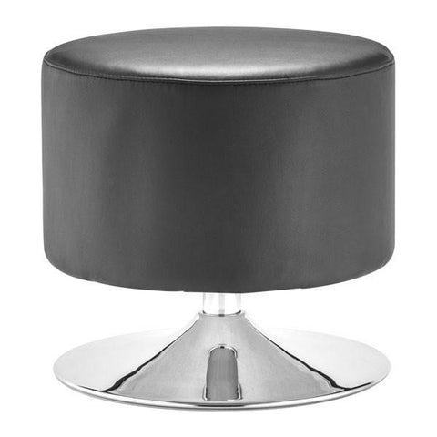 Plump Ottoman Black Furniture Zuo