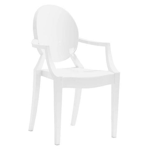 Zuo Anime Dining Chair White