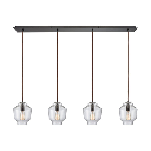 Elk Lighting 10905/4LP Pendant