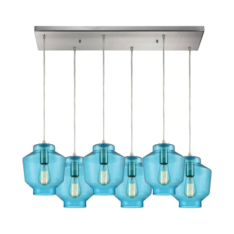 Elk Lighting 10915/6RC Pendant
