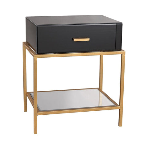 Evans Side Table - Black