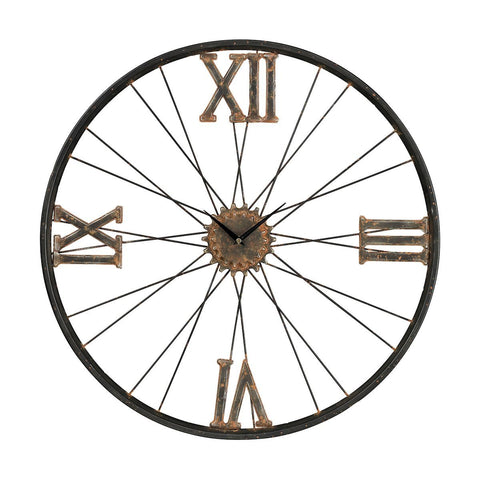 Sterling Iron Wall Clock 129-1088