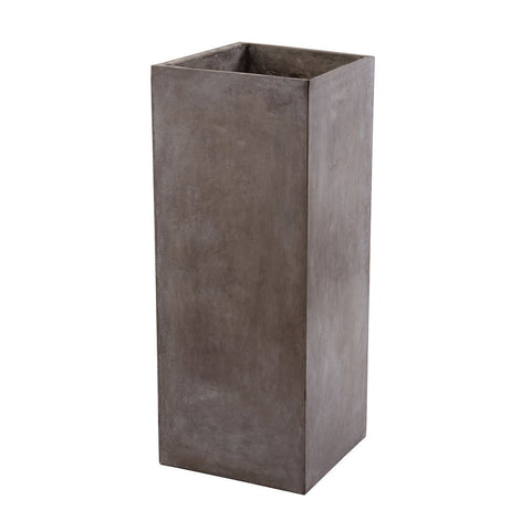 "Al Fresco 40"" Tall Cement Planter"