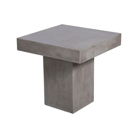 Millfield Concrete Outdoor Side Table