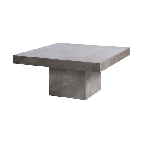 "Millfield Outdoor 43"" Concrete Coffee Table"