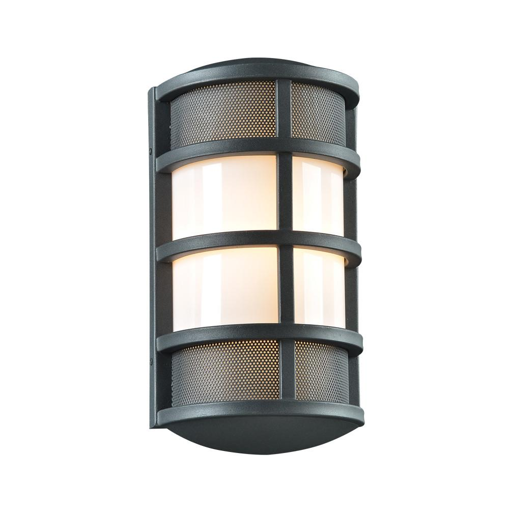 "Olsay 15""h Outdoor Wall Light - Bronze Outdoor PLC Lighting"