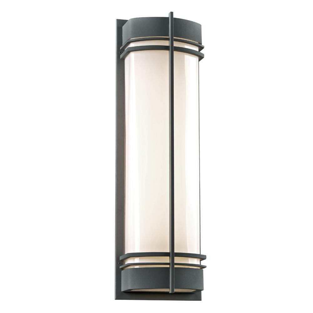 "Telford 28""h Outdoor Wall Light - Bronze Outdoor PLC Lighting"