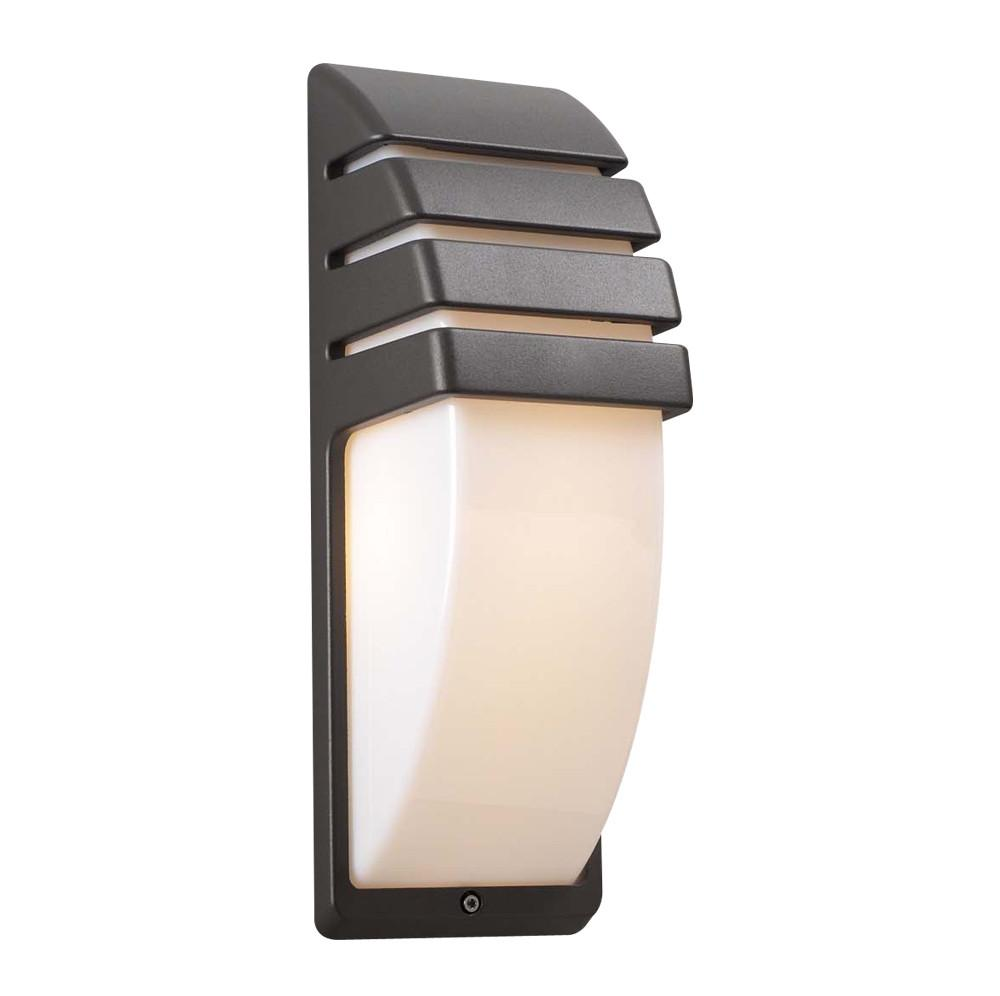"Synchro 14""h Outdoor Wall Light - Bronze Outdoor PLC Lighting"