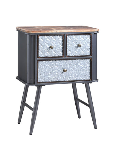 Forester Collection 3 Drawer Side Table