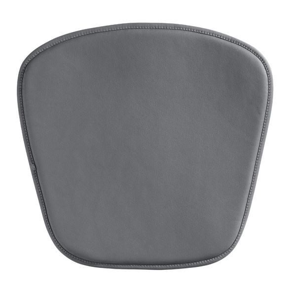 Wire/Mesh Chair Cushion Gray Furniture Zuo
