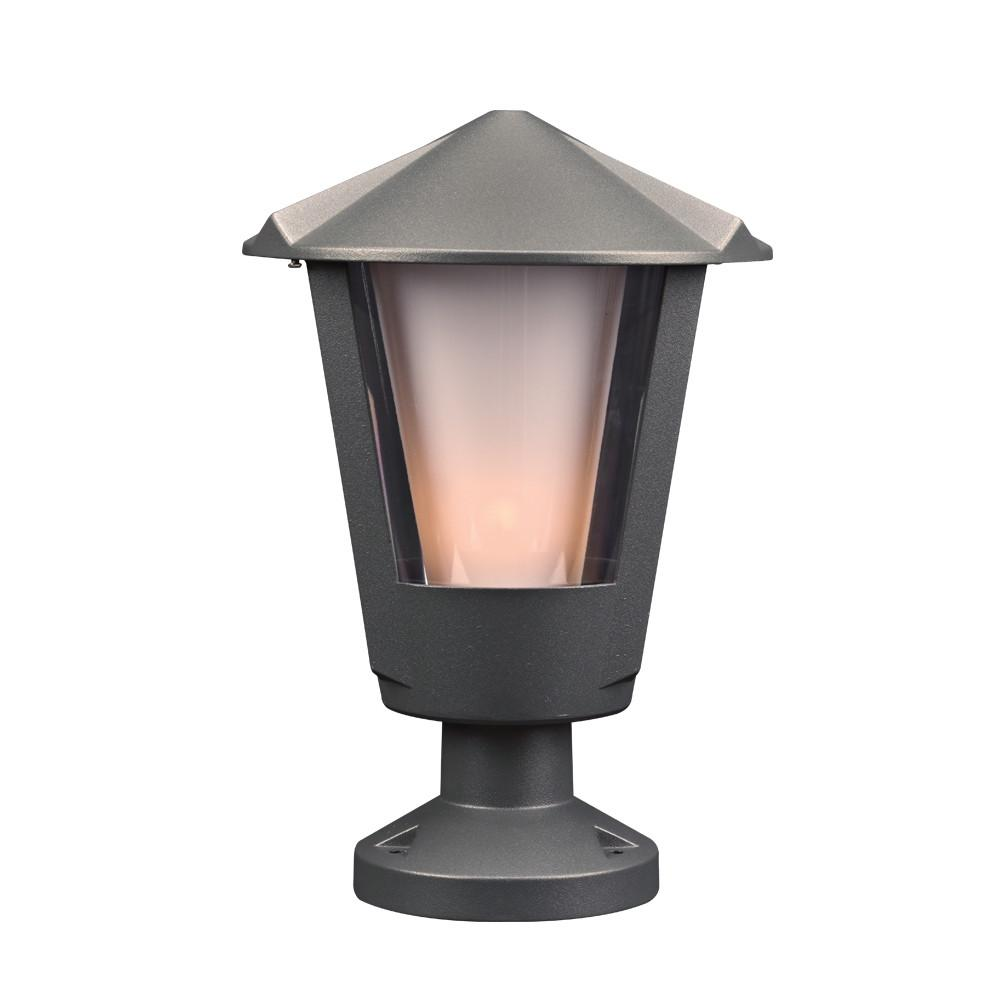 "Silva 15""h Outdoor Post Fixture - Bronze Outdoor PLC Lighting"