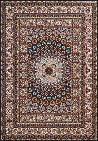Antiquities Jaipur Navy Rug - 4 Sizes Available