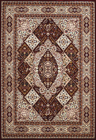 Antiquities Kirman Jewel Ruby Rug - 4 Sizes Available