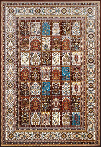 Antiquities Mecca Dark Brown Rug - 4 Sizes Available