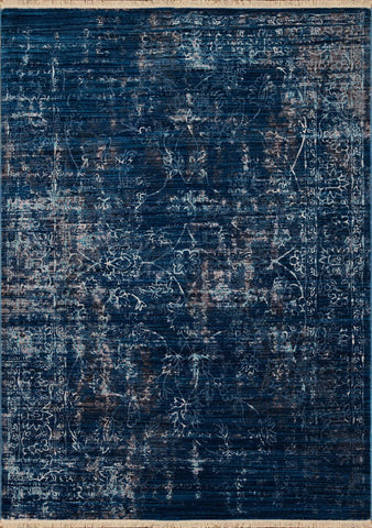 Monaco Cache Midnight Blue Rug - 5 Size Options
