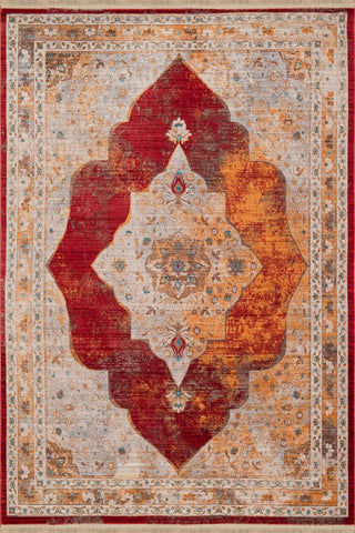 Monaco Monegasque Garnet Rug - 4 Size Options