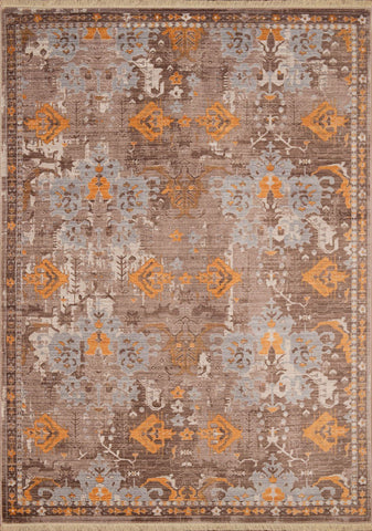 Monaco St. Martin Burnt Orange Rug - 6 Sizes Available