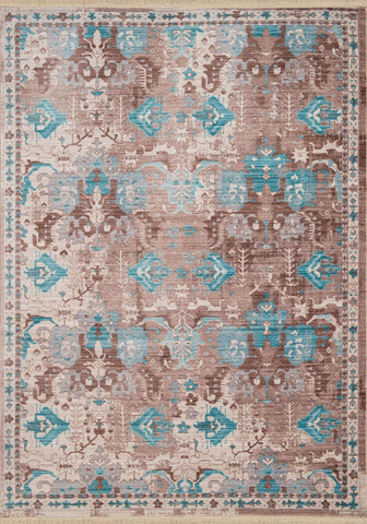Monaco St. Martin Aqua Rug - 6 Sizes Available