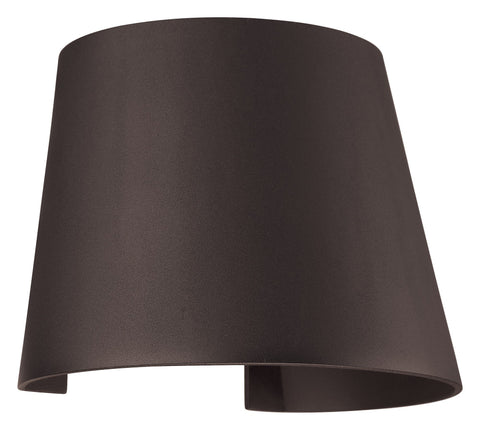 Cone Marine Grade Adjustable Wet Location LED Wallwasher - Bronze (BRZ)