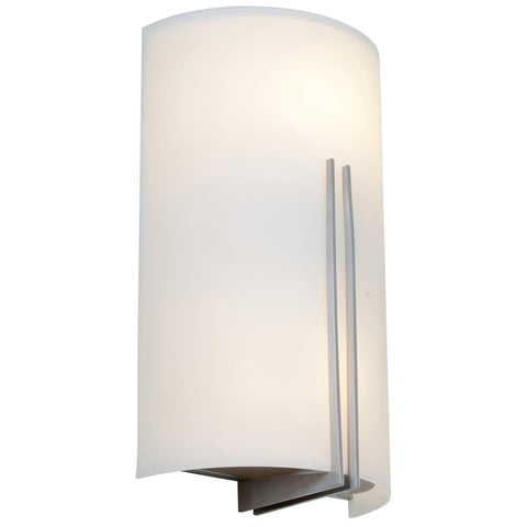 Prong White Tuning LED Wall Fixture - Brushed Steel (BS)