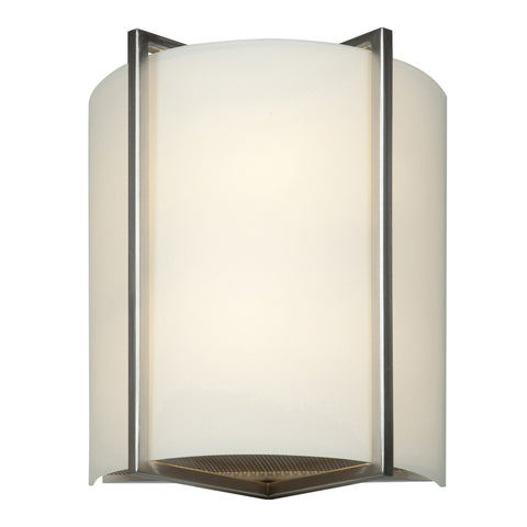 Vector White Tuning Dimmable LED Wall Fixture - Brushed Steel (BS)