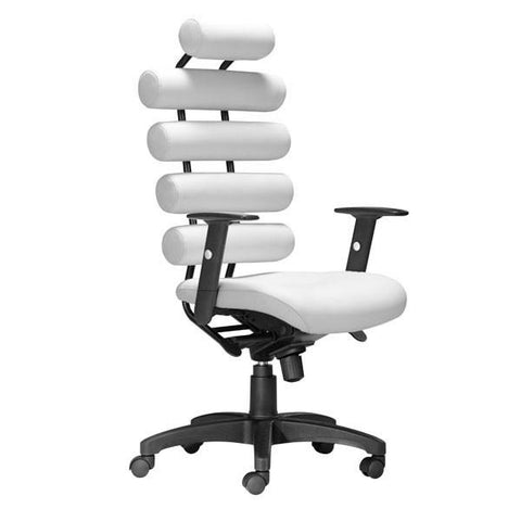 Unico Office Chair White Furniture Zuo