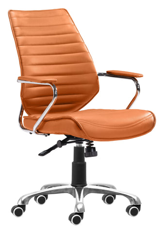 Enterprise Low Back Office Chair Terra Furniture Zuo