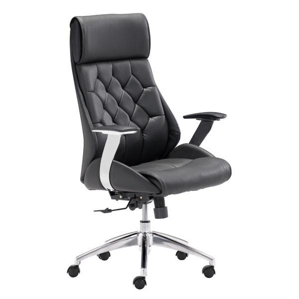 Boutique Office Chair Black Furniture Zuo