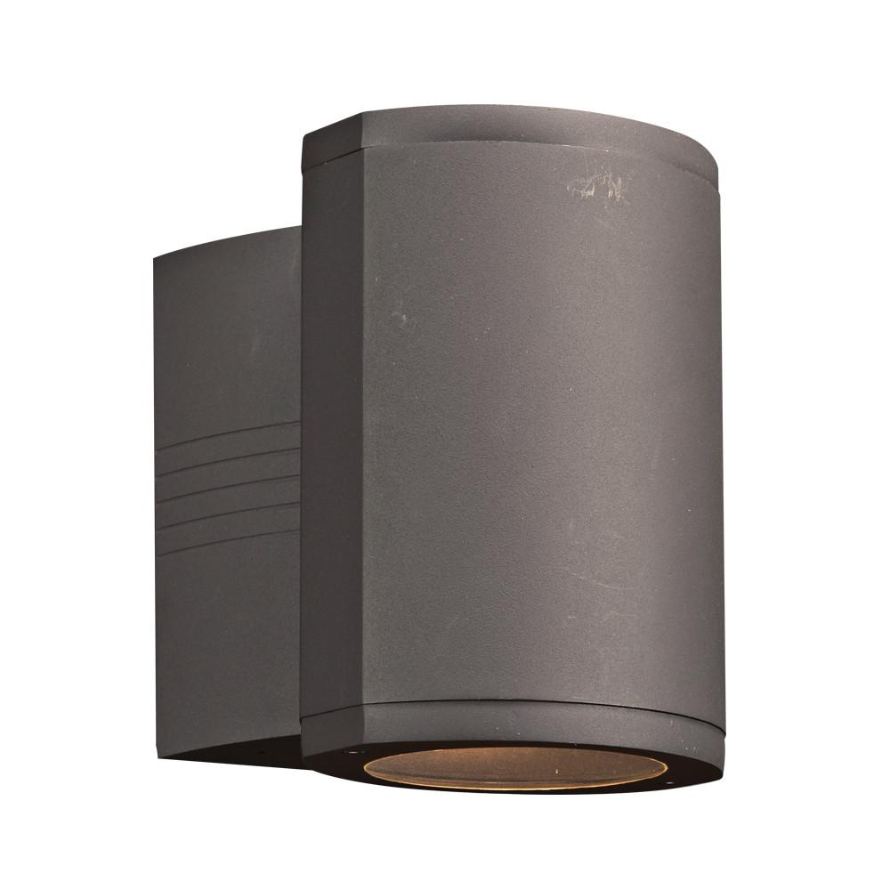 "Lenox II 9""h Outdoor Downlight LED Wall Fixture - Bronze Outdoor PLC Lighting"