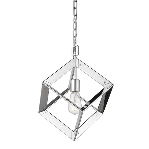 "Architect 11""w Mini Pendant in Chrome"