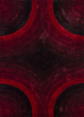 "United Weavers Finesse Astral Red Oversize Rug   7'10"" X 10'6"""