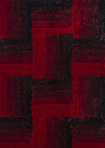 "United Weavers Finesse Flagstone Red Oversize Rug   7'10"" X 10'6"""
