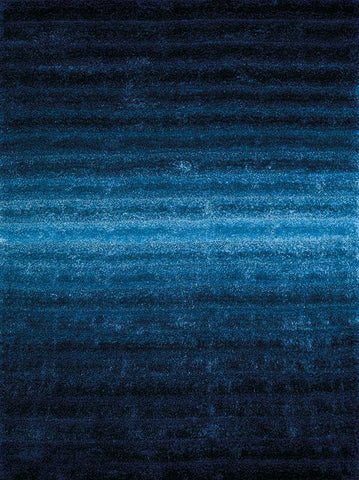 "United Weavers Finesse Queues Blue Oversize Rug  7'10"" X 10'6"""