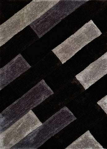 Finesse Chichi Black Rug - 3 Sizes Available