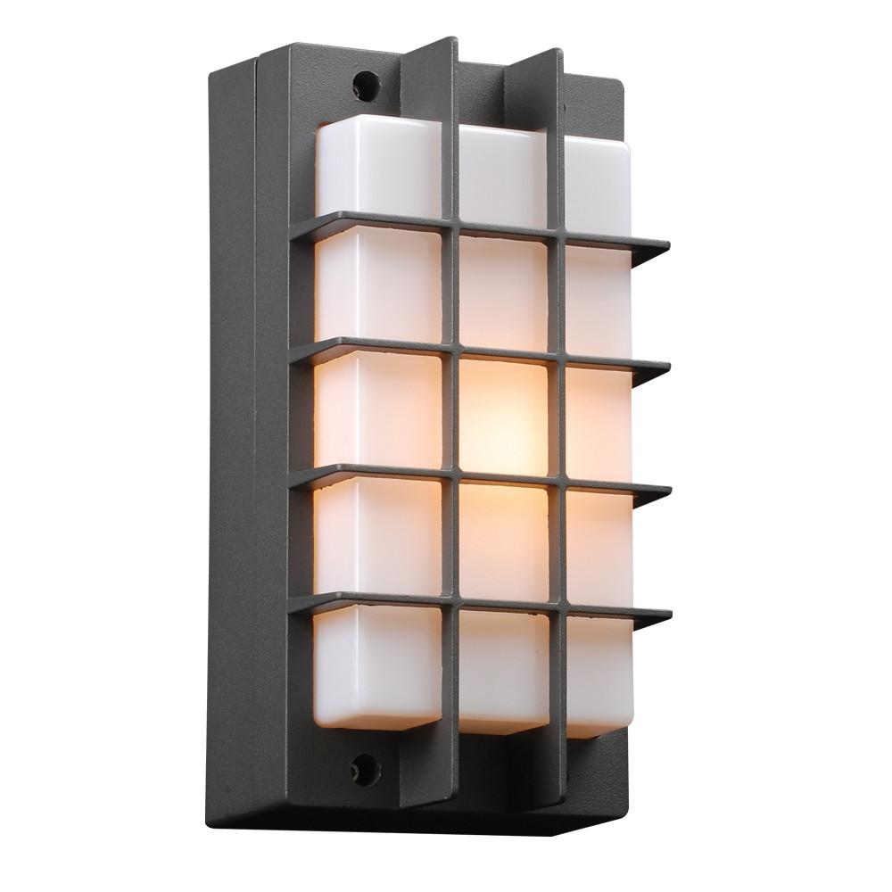 "Lorca 11""h Outdoor Wall Light - Bronze Outdoor PLC Lighting"