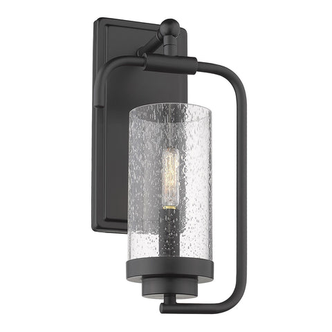 "Holden 14""h Wall Sconce in Black"