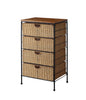 4 Drawer wicker