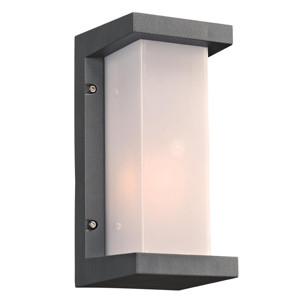 "Boston Collection 12""h Outdoor Wall Light - Bronze Outdoor PLC Lighting"
