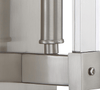 Halcyon 1-Lt Sconce - Satin Nickel Wall Varaluz