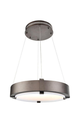 Halo 19 Inch LED Ring Pendant Ceiling Kalco