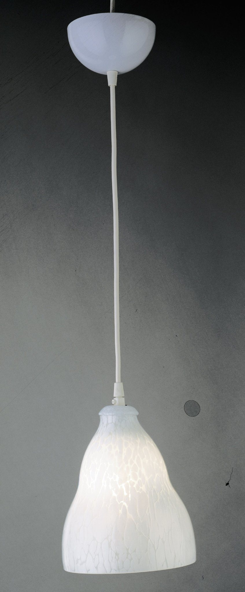 "Vega II 7""w White Mini Pendant Ceiling PLC Lighting"