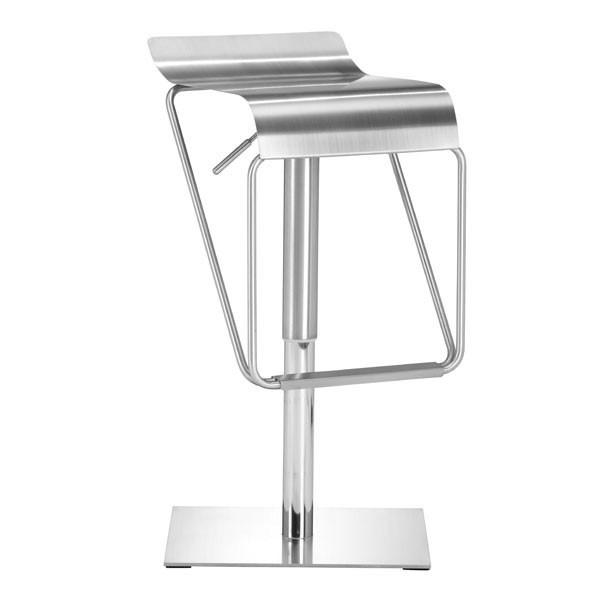 Dazzer Barstool Stainless Steel Furniture Zuo
