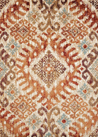 Bridges Verazanno Crimson Rug - 5 Sizes Available