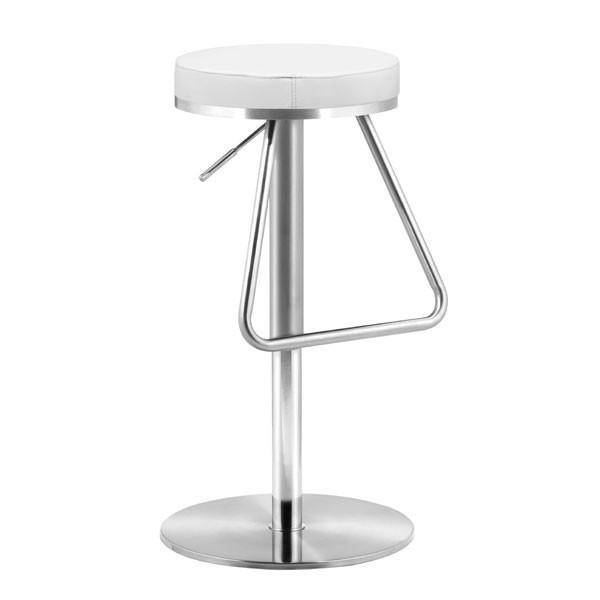 Soda Barstool White Furniture Zuo