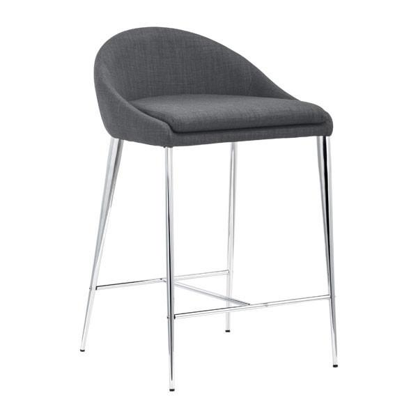 Reykjavik Counter Chair Graphite (Set of 2) Furniture Zuo