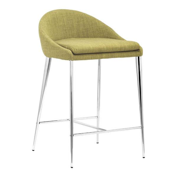 Zuo Reykjavik Counter Chair Pea