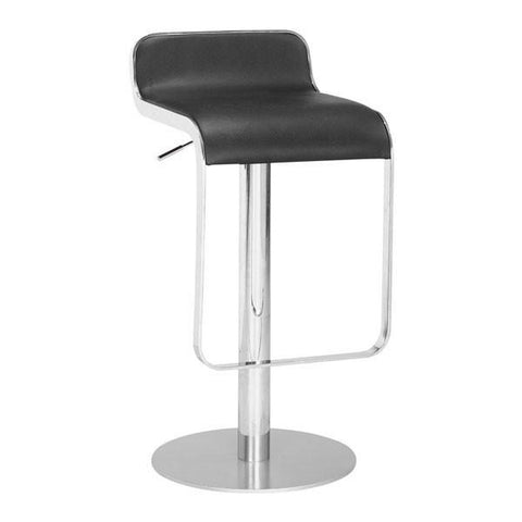 Equino Stool Black Furniture Zuo