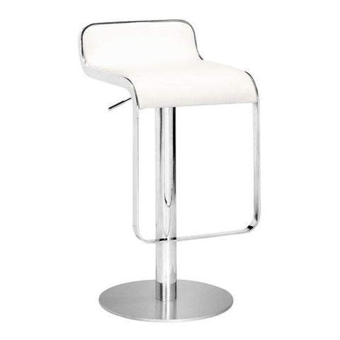 Equino Stool White Furniture Zuo