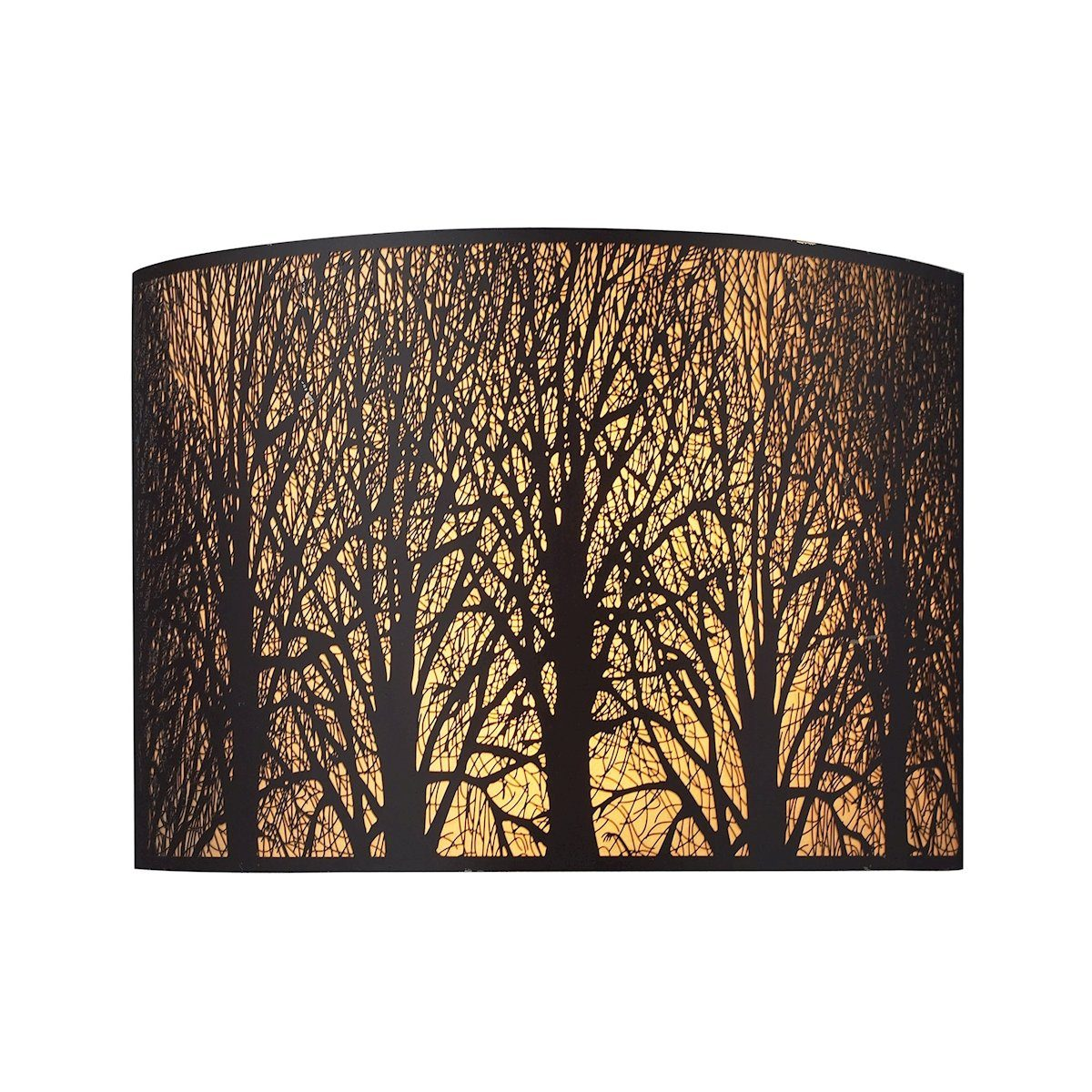 Woodland Sunrise 2 Light Wall Sconce In Aged Bronze Wall Sconce Elk Lighting