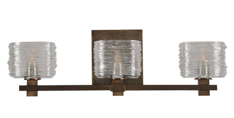 "Clearwater 21""w Vanity Light Fixture - Bronze"